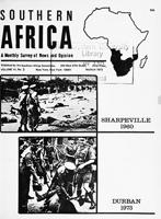 Southern Africa, Vol. 6, No. 3