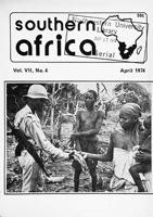 Southern Africa, Vol. 7, No. 4