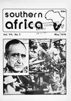 Southern Africa, Vol. 7, No. 5