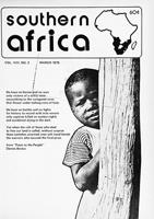 Southern Africa, Vol. 8, No. 3