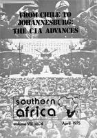 Southern Africa, Vol. 8, No. 4