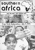 Southern Africa, Vol. 8, No. 7