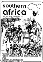 Southern Africa, Vol. 8, No. 8