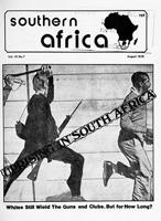 Southern Africa, Vol. 9, No. 7