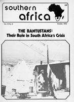 Southern Africa, Vol. 9, No. 9