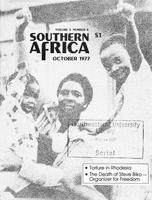 Southern Africa, Vol. 10, No. 8