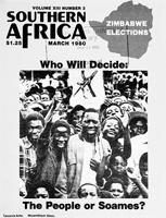 Southern Africa, Vol. 13, No. 3