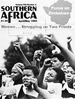 Southern Africa, Vol. 13, No. 4