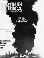 Southern Africa, Vol. 13, No. 6