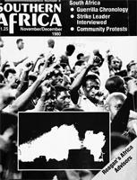 Southern Africa, Vol. 13, No. 8