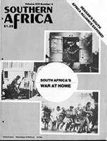Southern Africa, Vol. 14, No. 4