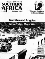 Southern Africa, Vol. 15, No. 3