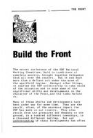 Build the front