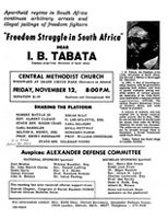 Freedom struggle in South Africa