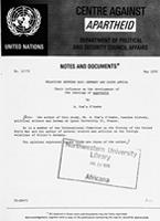 Relations Between Nazi Germany and South Africa