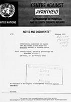 International Commission of Inquiry into the Crimes of the Racist and Apartheid Regimes in Southern Africa