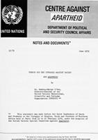 Unesco and the Struggle Against Racism and Apartheid