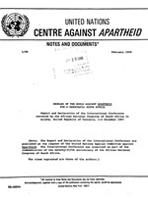 Peoples of the World Against Apartheid for a Democratic South Africa