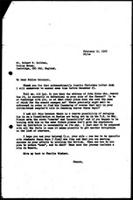 [Letter from D. Gill (WCC, Geneva) to R. Gribben, Cambridge)]