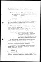 Report of the Chairman, Local Arrangements Committee, London