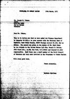 [Letter from B. Sjollema (World Council of Churches, Geneva) to J. Ithana (South West Africa People's organization, Tanzania), March 10, 1971, with attachment]