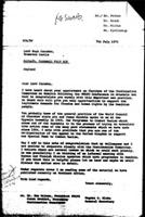 [Letter from E. Blake (World Council of Churches, Geneva) to H. Caradon (England), July 7, 1972]