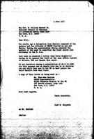 [Letter from J. Chipenda (World Council of Churches, Geneva) to Rev. W. Howard (National Council of Churches, New York)]