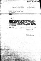[Letter from B. Sjollema (World Council of Churches, Geneva) to Zimbabwe African National Union, with attachment, September 21, 1970]