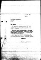 [Letter from C. Spivey (World Council of Churches, Geneva) to N. Shamuyarira (Zimbabwe African National Union), May 25, 1971]