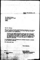 [Letter from B. Sjollema (World Council of Churches, Geneva) to H. Chitepo (Zimbabwe African National Union), September 17, 1971]
