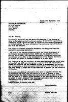 [Letter from B. Sjollema (World Council of Churches, Geneva) to H. Sahnoun (Ethiopia), with attachment, September 30, 1971]
