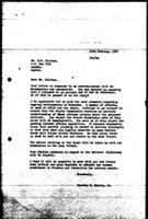 [Letter from C. Spivey (World Council of Churches, Geneva) to H. Chitepo (Zimbabwe African National Union), February 16, 1972]