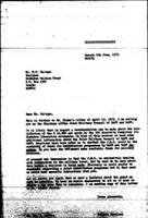 [Letter from B. Sjollema (World Council of Churches, Geneva) to H. Chitepo (Zimbabwe African National Union), June 9, 1972]