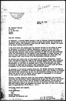 [Letter from H. Reuschle (World Council of Churches, Geneva) to H. Chitepo (Zimbabwe African National Union), April 19, 1974]