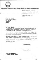 [Letter from B. Sjollema (World Council of Churches, Geneva) to A. Muzorewa (United Methodist Church, Salisbury), April 22, 1975]