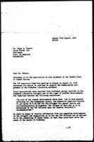 [Letter from B. Sjollema (World Council of Churches, Geneva) to E. Tekere (Zimbabwe African National Union, Mozambique), with attachment, August 27, 1976]