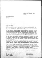 [Letter from P. Potter (World Council of Churches, Geneva) to J. Nkomo (African National Council of Zimbabwe), October 26, 1976]