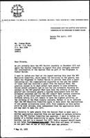 [Letter from B. Sjollema (World Council of Churches, Geneva) to J. Nkomo (African National Council of Zimbabwe), April 6, 1977]