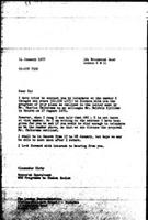 [Letter from A. Kirby (World Council of Churches, Geneva) to the African National Council of Zimbabwe, January 14, 1977]