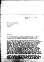 [Letter from B. Sjollema (World Council of Churches, Geneva) to N. Shamuyarira (Zimbabwe African National Union), with attachments, August 25, 1977]