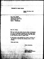 [Letter from B. Sjollema (World Council of Churches, Geneva) to E. J. M. Zvobgo (Zimbabwe African National Union), May 16, 1979]
