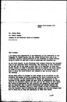 [Letter from P. Potter (World Council of Churches, Geneva) to R. Mugabe (Zimbabwe African National Union) and J. Nkomo (Zimbabwe African Peoples' Union), with draft attached, October 19, 1979]