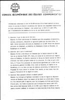 [A background document concerning the grant of US$ 85,000 to the humanitarian programmes of the Patriotic Front of Zimbabwe from the World Council of Churches - French translation]
