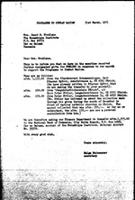 [Letter from H. Reisenauer (WCC, Geneva) to J. Mondlane (Mozambique Institute, Dar es Salaam), with attachment]