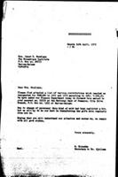 [Letter from G. Kirschke (WCC, Geneva) to J. Mondlane (Mozambique Institute, Dar es Salaam), with attachments]