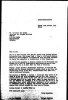 [Letter from B. Sjollema (WCC, Geneva) to M. dos Santos (FRELIMO, Dar es Salaam)]