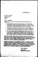 [Letter from N. Dawood (WCC, Geneva) to J. Sangumba (UNITA, London)]