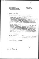 Memorandum from P. Potter (WCC, Geneva) to W. Kenworthy (WCC, Geneva)] Letter to banks regarding South African involvement