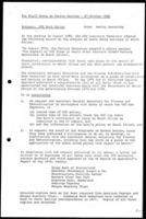 [Memorandum from W. Kenworthy (WCC, Geneva) to Staff Group on Racism Meeting - 27 October 1980] WCC Bank Policy