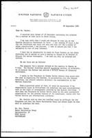 [Letter from E. Reddy (United Nations Centre against Apartheid, New York) to U. Haymoz (Berne Declaration Group, Zurich)]